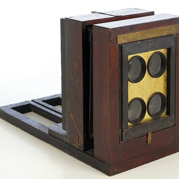 Ferrotype Bon Ton View Box, 1870s – another memorable collecting experience - Cameras