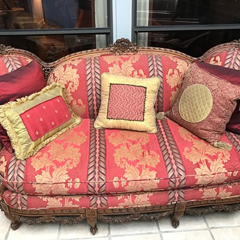 Couch and chair set - Furniture