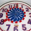 Cleveland Spinner Neon Clock