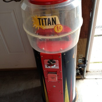 Titan Gumball Machine - Coin Operated