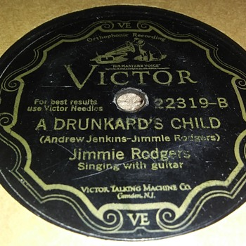 JIMMIE RODGERS - Records