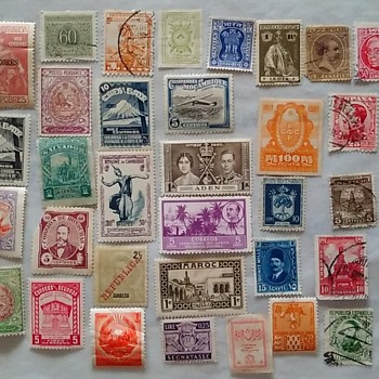 Foreign Postage Stamps: Many Of These Countries Have Been Renamed