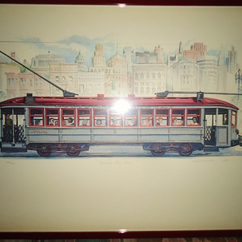 Clang, Clang, Clang goes the Trolley, Ding, Ding, Ding goes the Bell! Judy Garland S. F. trolley