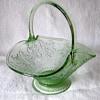 Indiana Glass Manf -- Tiara Seller -- Bridal or Fruit Basket by Darell Templeton