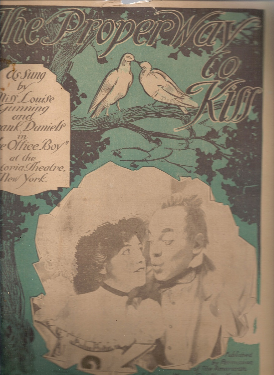 SHEET MUSIC 1900'S ALL ORG   Collectors Weekly