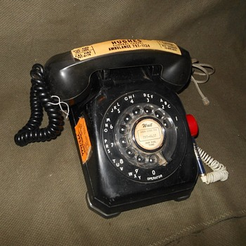 Stromberg Carlson 1543 Rotary Phone Early 1950s - Telephones