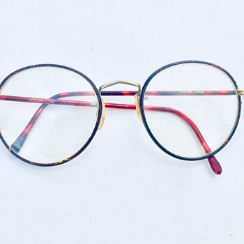1920's / 1930's Round Japanese Eyeglasses Spectacles Readers - Accessories