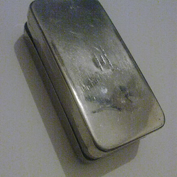 Chrome metal box. - Tools and Hardware