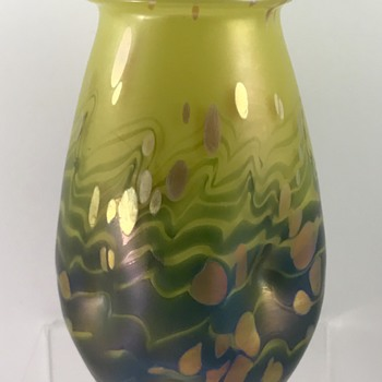 Loetz (lemon-yellow) Cytisus, PN II-1270, ca. 1904 - Art Glass