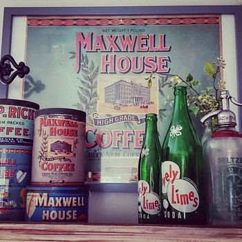 1920's General Store Advertising Sign  - Advertising