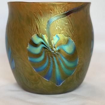 Rare Loetz PG 2/318 art glass vase early 1900's - Art Glass