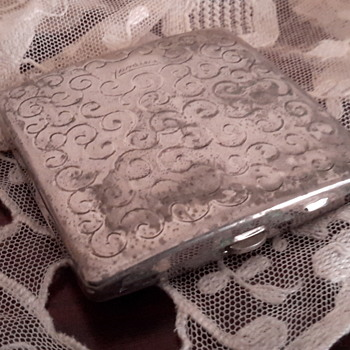 1940s/1930s sterling silver Yardley powder compact case