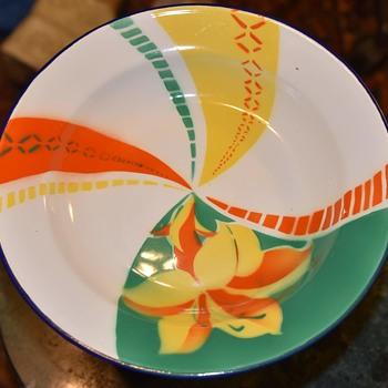 Granite ware?  big bowl - People's Republic of China - Asian