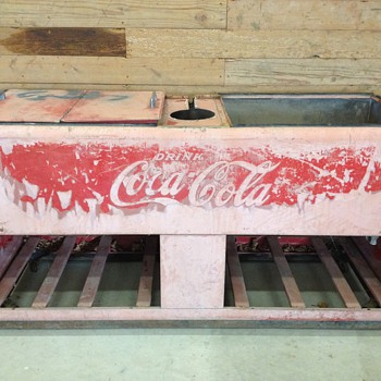 1940 Westinghouse Giant Coca Cola Cooler? - Coca-Cola