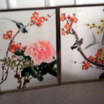 Beautiful Bird painting   chinese?