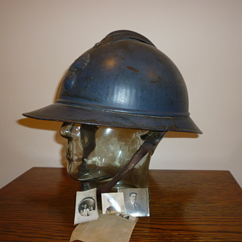 French infantry M15 Adrian helmet, WWI