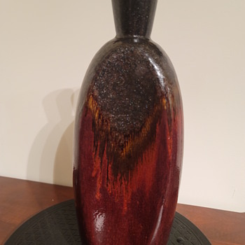 Mid century modern decanter vase - Pottery