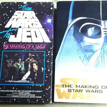 Two Star Wars Documentaries on VHS - Movies