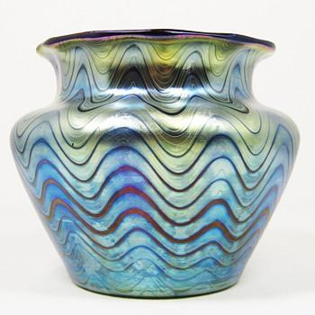 Loetz Rubin Phänomen Genre 6893 ca. 1898 PN 1-7501 - Art Glass