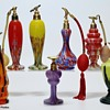 Art Deco Czech Art Glass Perfume Bottles