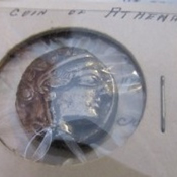 Coin of Athena  - World Coins