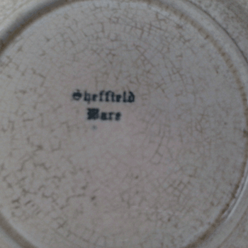 Sheffield Ware Square Sliver Trimmed Appetizer Plate - China and Dinnerware