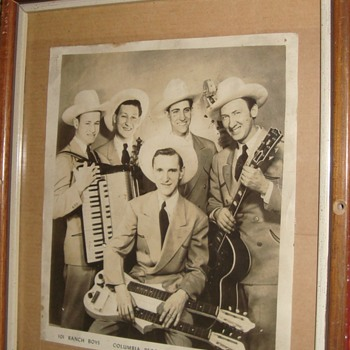 """Photo of older Country Music Group """"The Ranch Boys"""". - Music Memorabilia"""
