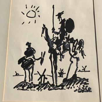 Pablo Picasso don Quixote  - Fine Art