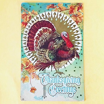 Thanksgiving Postcard - Postcards