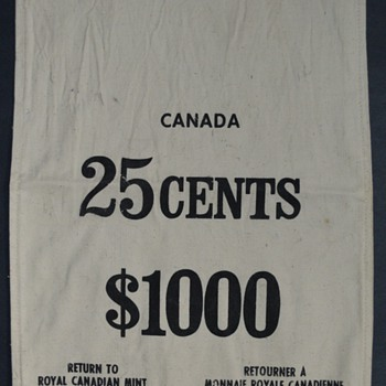 Royal Canadian Mint Coin Bags
