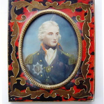 Admiral lord Horatio Nelson (1758-1805). Who painted this miniature ? - Fine Art