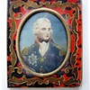 Admiral lord Horatio Nelson (1758-1805). Who painted this miniature ?