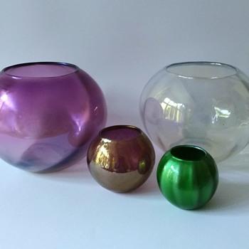 Lötz: Marie Kirschner, PN 1090/48, 1090/50, 1090/51  - Art Glass