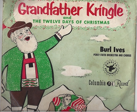 Burl Ives Christmas.Burl Ives Grandfather Kringle And The Twelve Days Of