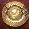 Art Deco Glass Plate
