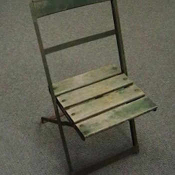 Original Wrigley Field Seat - Baseball