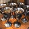 Vintage 950 sterling goblets