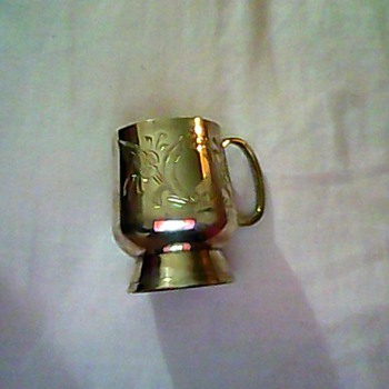 Old Christening Cup - Silver