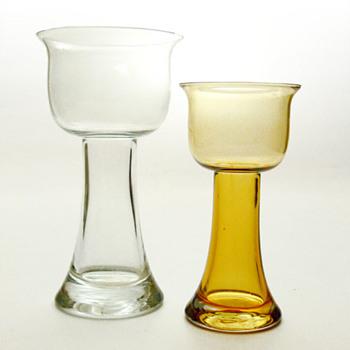 LOTUS vases, Nanny Still (Riihimäki Lasi, 1974) - Art Glass