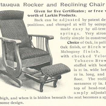 Larkin Chatequa Rocker Recliner #45 - Furniture