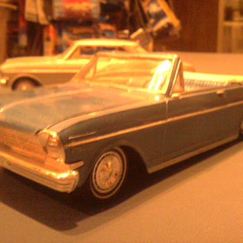 1963 Chevy II convertable - Model Cars