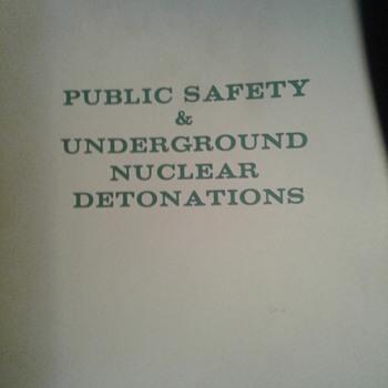 Nuclear hearings - Books