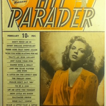 """Hit Parader"" Magazine - Paper"