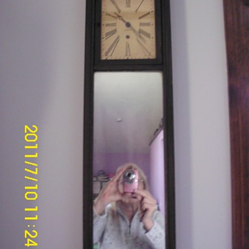 Ansonia Mirror Clock - Clocks