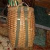 Vintage backpack basket