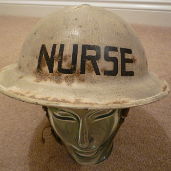 WW11 Royal Air Force Nurses helmet