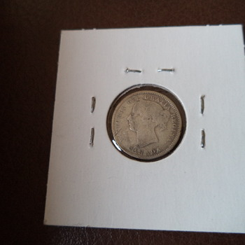 1882H Canada 10 Cent Coin