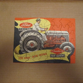 Vintage Ford Tractor Puzzle - Games