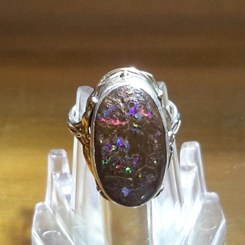 This is a Rhoda Wager Boulder Opal Ring - mystery solved by jewels1900 and kiwipaul - Fine Jewelry