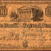 The Bank of The United States - Novelty Note